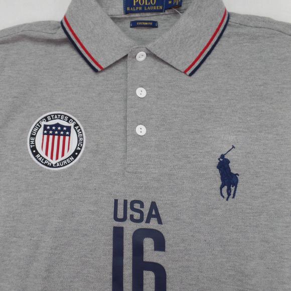 6847c6c3c5769b Polo Ralph Lauren USA Flag Shirt Pony Logo